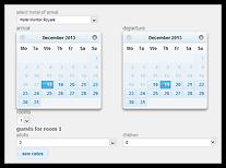 Calendario Prenotazioni Alberghiere.Motore Di Prenotazioni Standard Gratis Sistema Di
