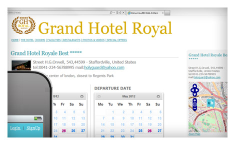 Free Reservation System Booking Engine White Label - upbooking